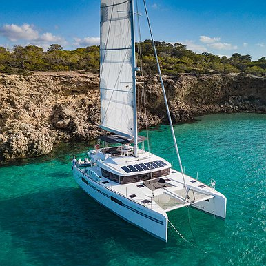 LAGOON 52 of Lizard Boats in Ibiza