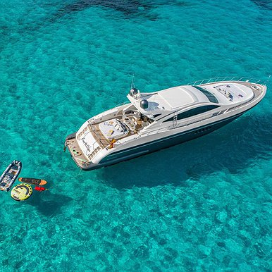 MANGUSTA 92 of Lizard Boats in Ibiza