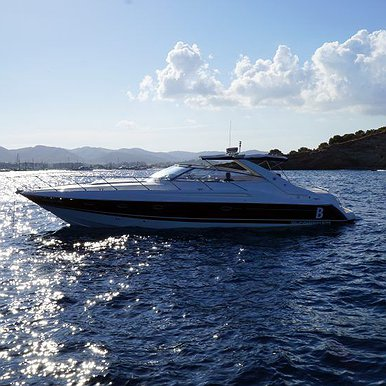 SUNSEEKER CAMARGUE 47 of Lizard Boats in Ibiza