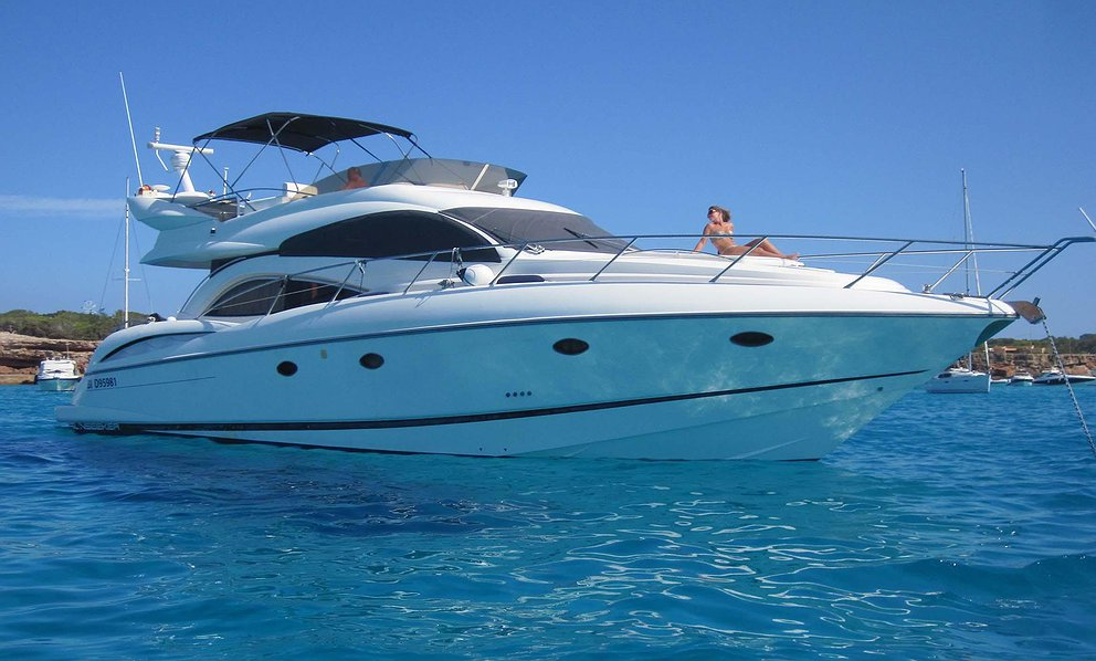 SUNSEEKER MANHATTAN 56 de Lizard Boats en Ibiza
