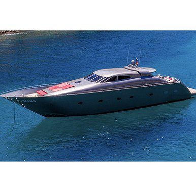 TECNOMAR 80 FT VELVET of Lizard Boats in Ibiza